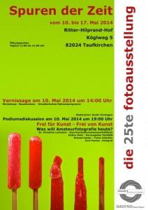 Plakat 25te Ausstellung Blende1