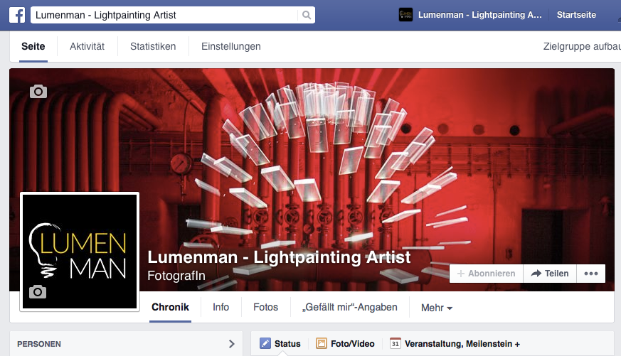 lumenman lightpainting artist facebook