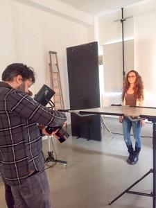 making of Imago Ultralight Fotoshooting