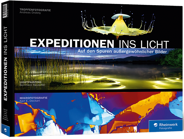 Expeditionen ins Licht, Rheinwerk Verlag, Bernhard Rauscher Lumenman